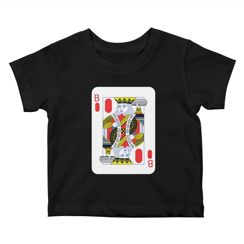 King of Burritos Kids Baby T-Shirt by TCarver T-shirt Designs