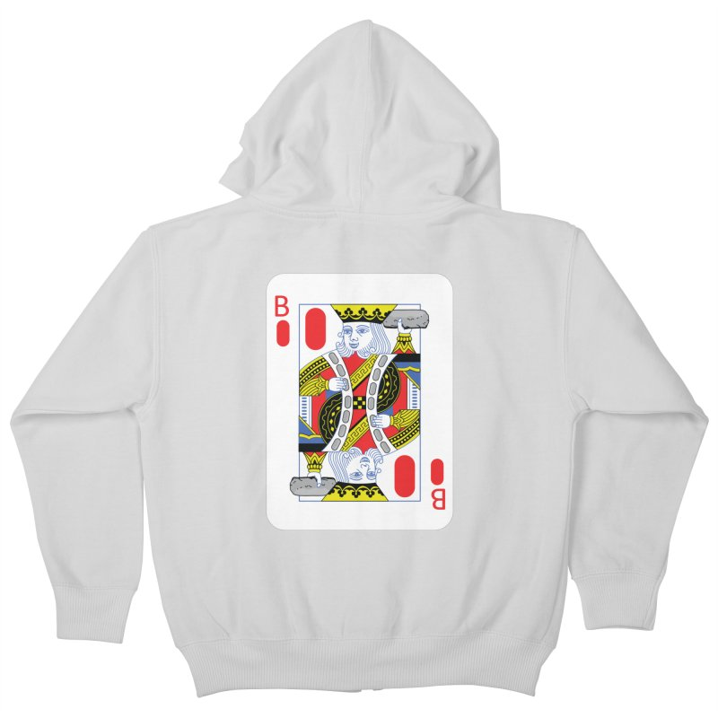 King of Burritos Kids Zip-Up Hoody by TCarver T-shirt Designs