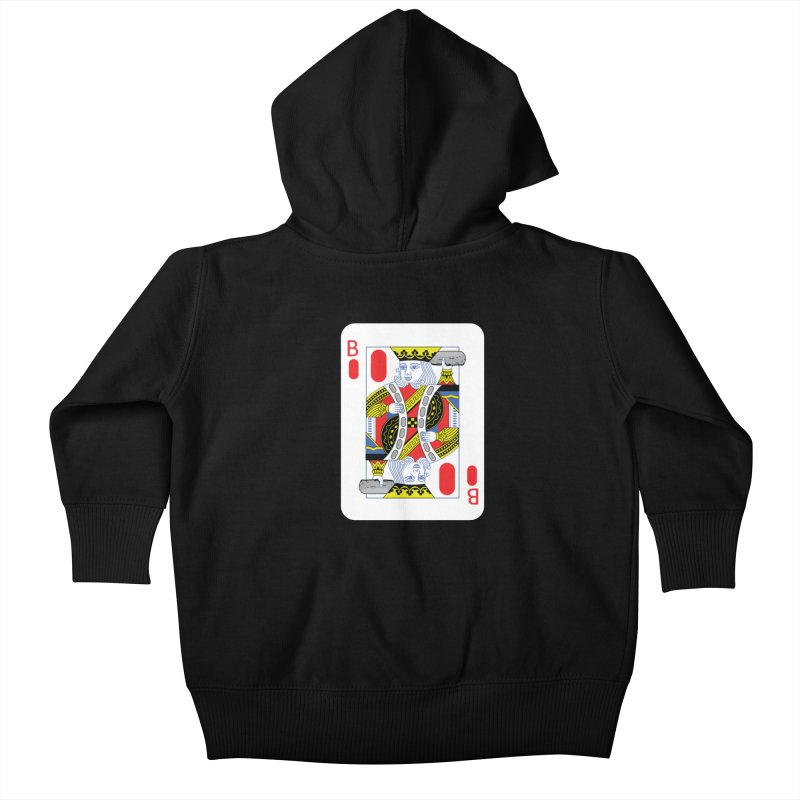 King of Burritos Kids Baby Zip-Up Hoody by TCarver T-shirt Designs