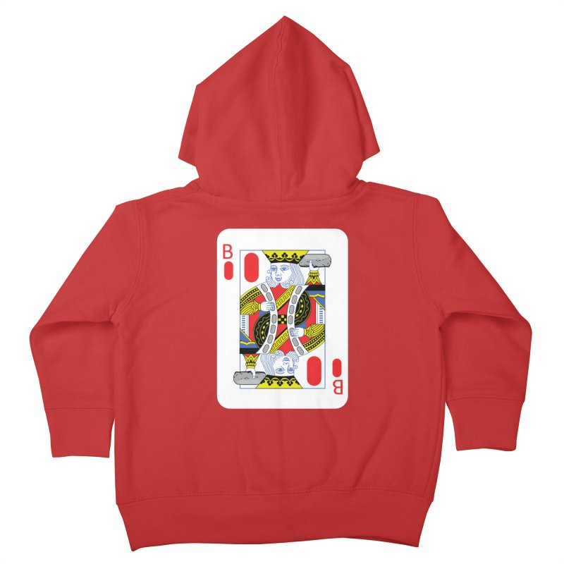 King of Burritos Kids Toddler Zip-Up Hoody by TCarver T-shirt Designs