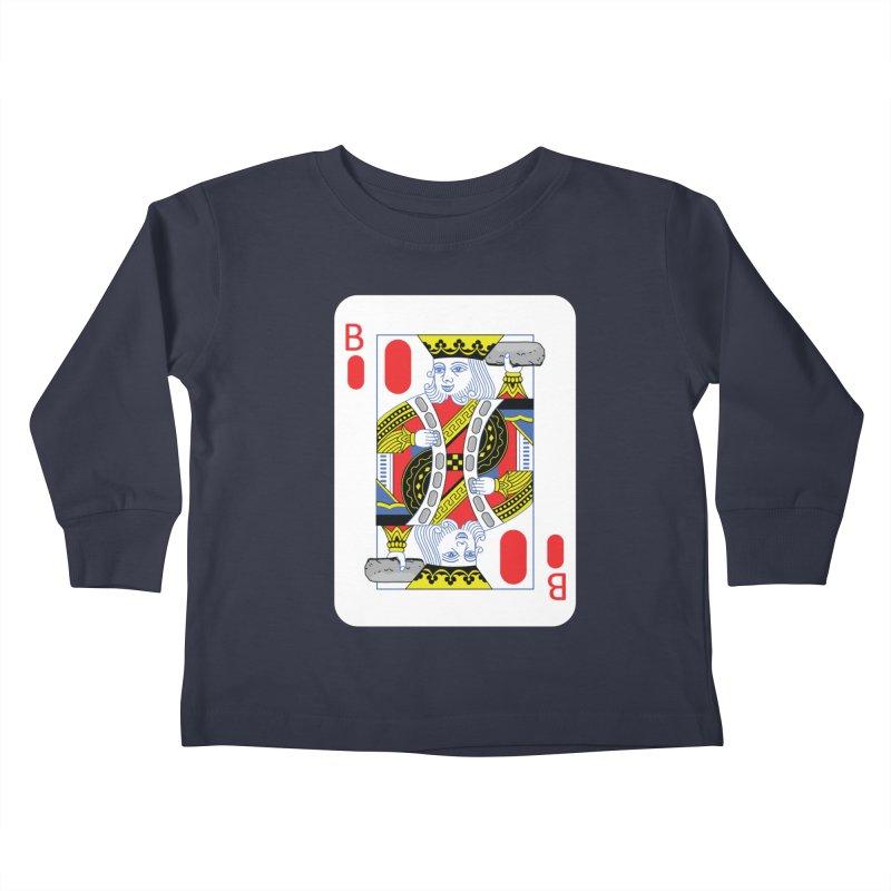 King of Burritos Kids Toddler Longsleeve T-Shirt by TCarver T-shirt Designs