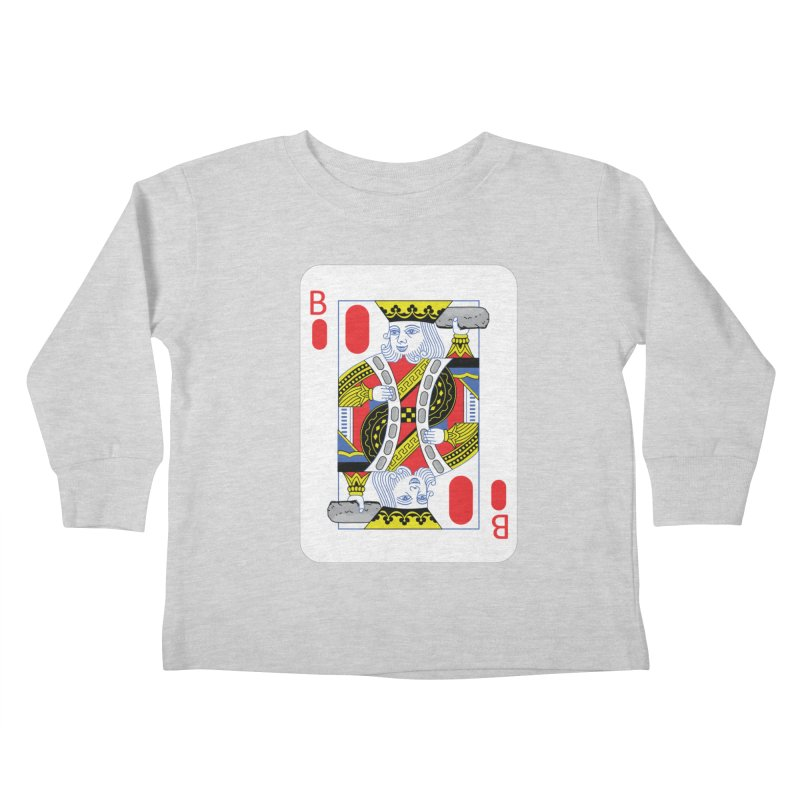 King of Burritos Kids Toddler Longsleeve T-Shirt by TCarver T-shirt Designs