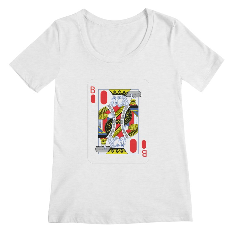 King of Burritos Women's Scoopneck by TCarver T-shirt Designs