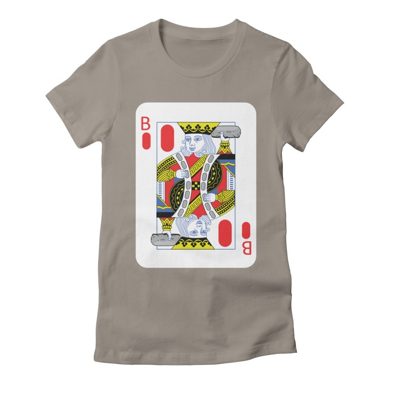 King of Burritos Women's Fitted T-Shirt by TCarver T-shirt Designs