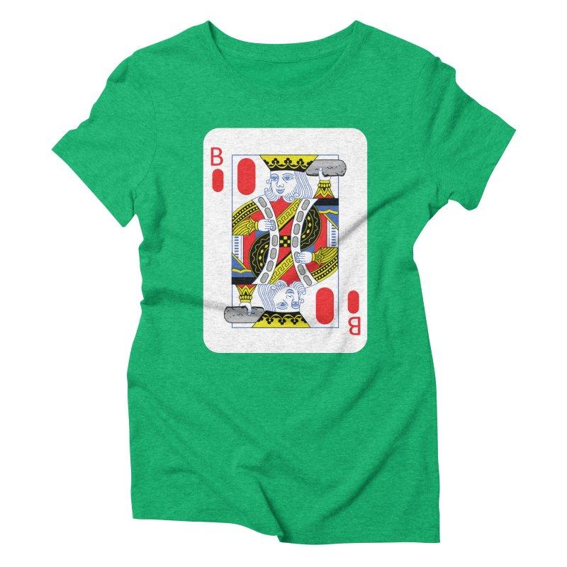 King of Burritos Women's Triblend T-Shirt by TCarver T-shirt Designs