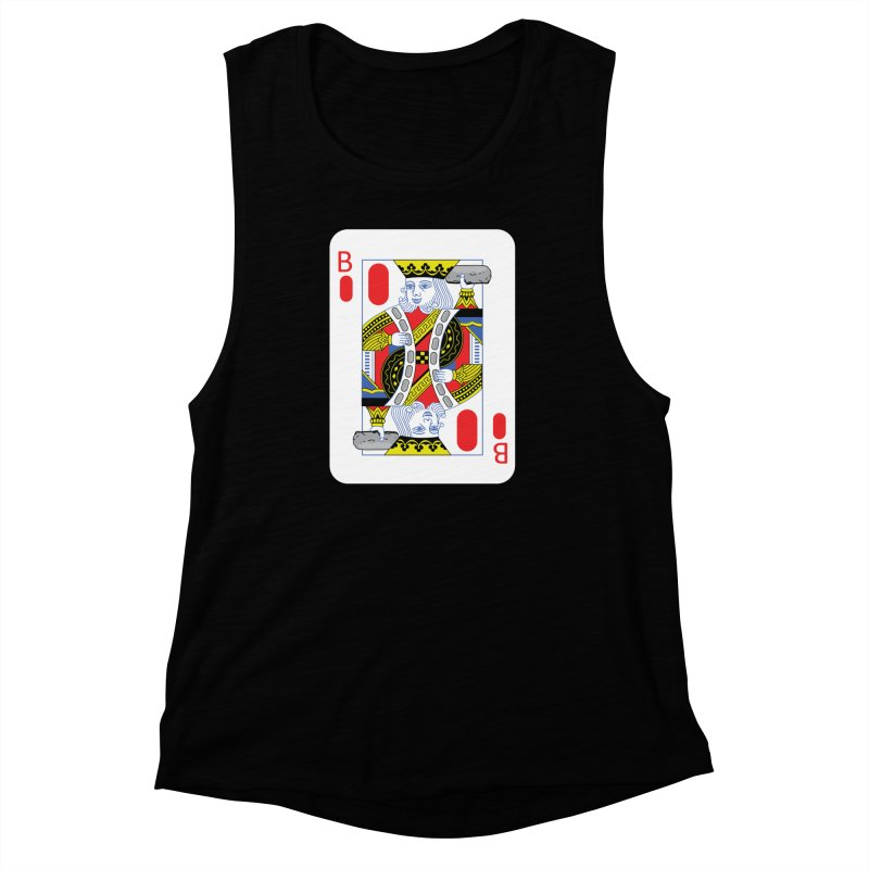 King of Burritos Women's Muscle Tank by TCarver T-shirt Designs