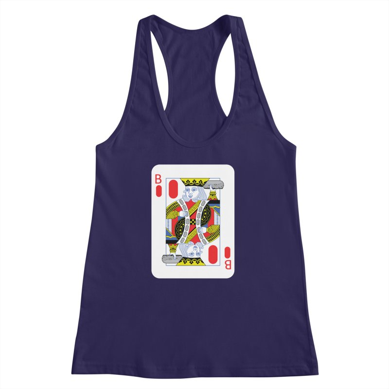 King of Burritos Women's Racerback Tank by TCarver T-shirt Designs