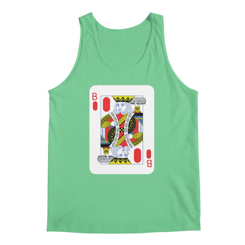 King of Burritos Men's Tank by TCarver T-shirt Designs