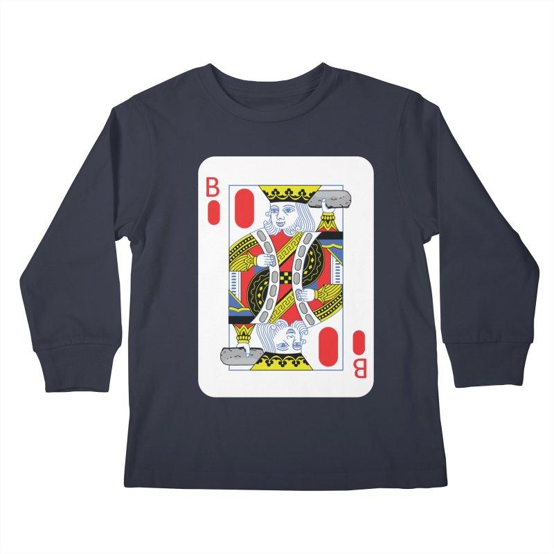 King of Burritos Kids Longsleeve T-Shirt by TCarver T-shirt Designs