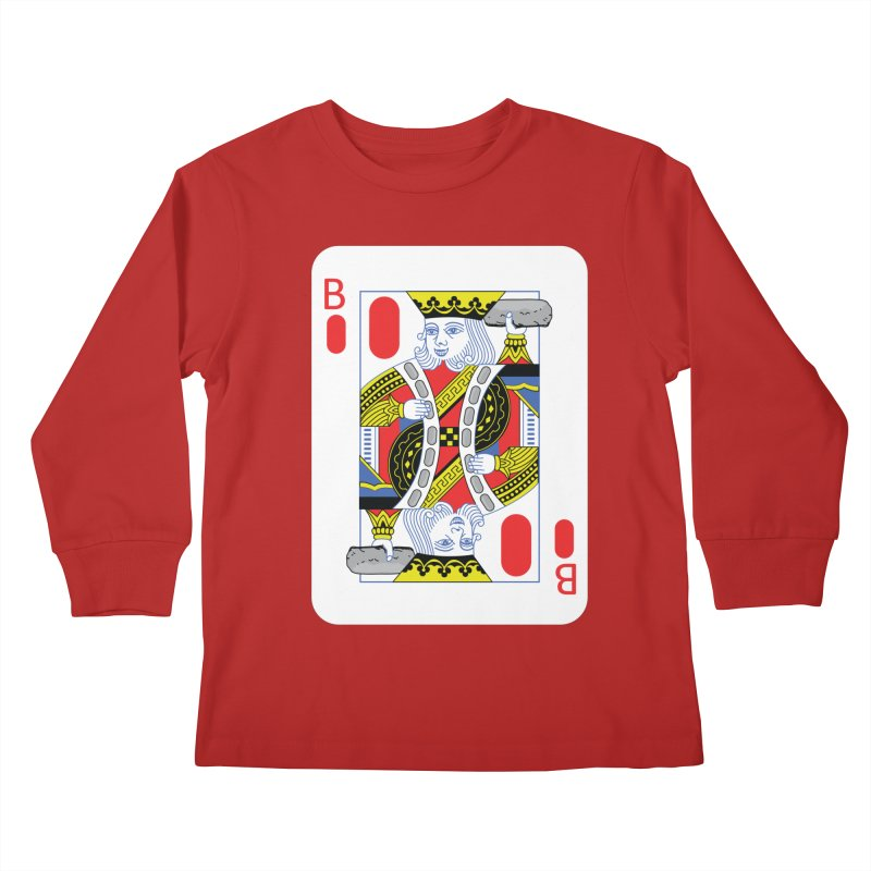 King of Burritos Kids Longsleeve T-Shirt by TCarver T-shirt Designs