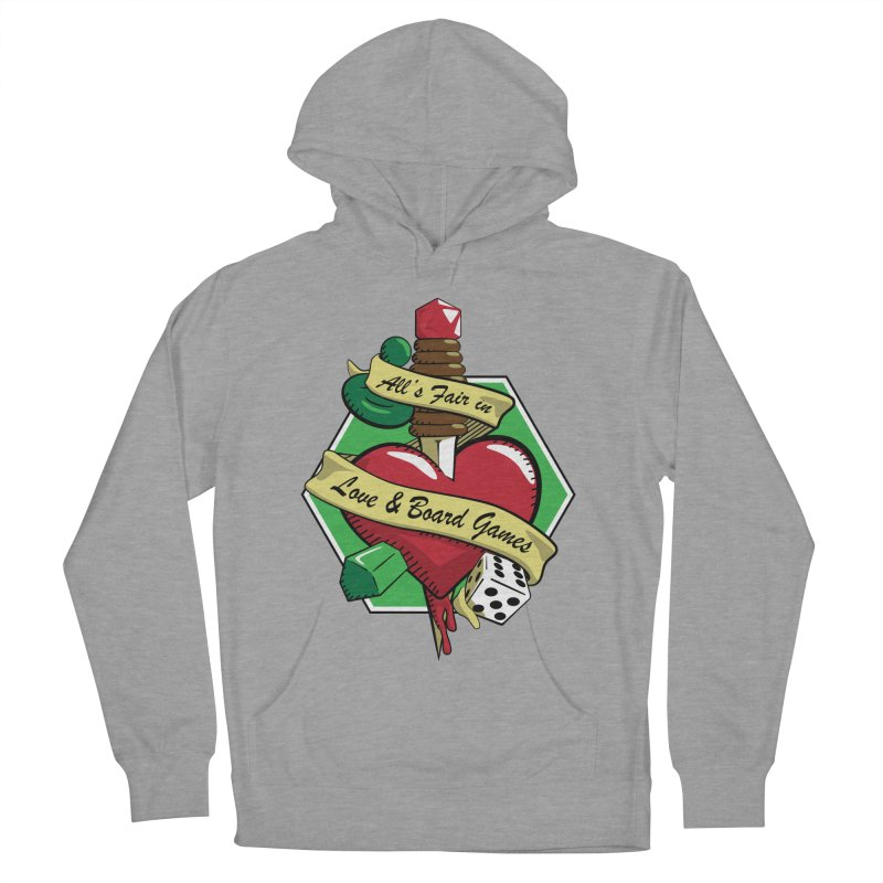All's Fair in Love and Boardgames Men's Pullover Hoody by TCarver T-shirt Designs