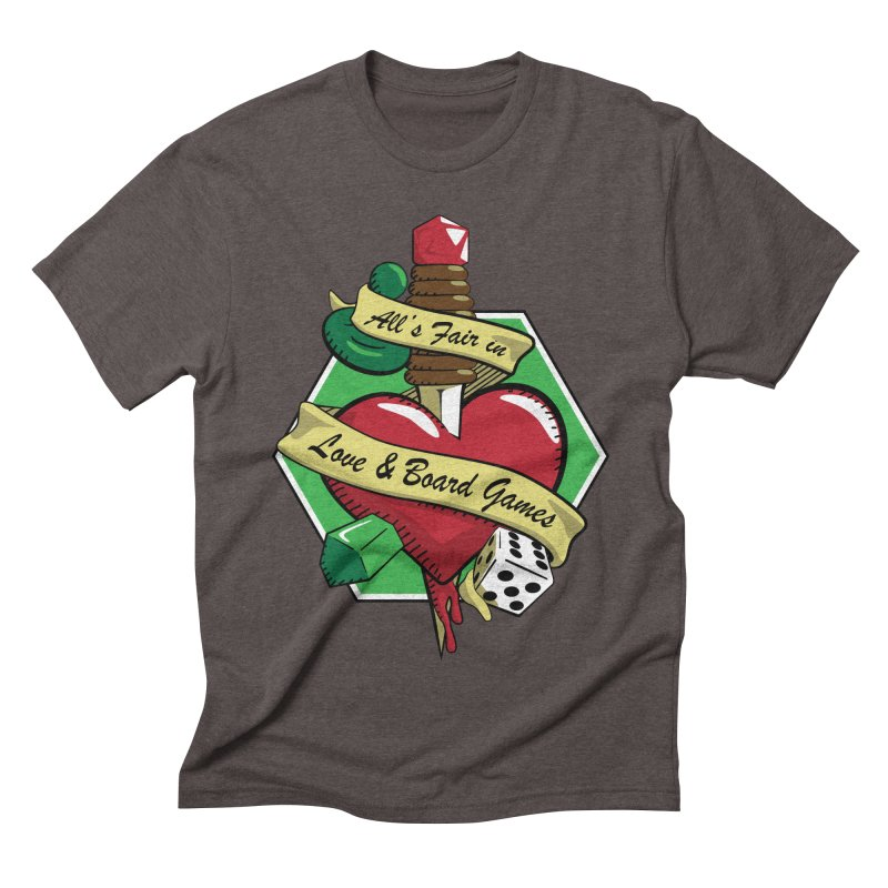 All's Fair in Love and Boardgames   by TCarver T-shirt Designs
