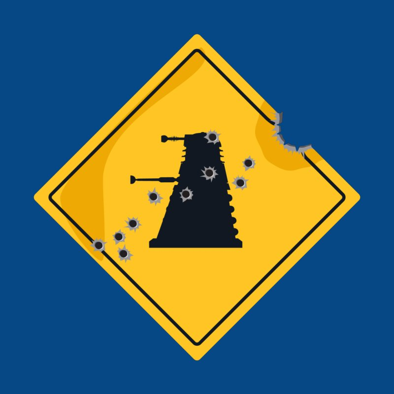 Dalek Crossing None  by TCarver T-shirt Designs