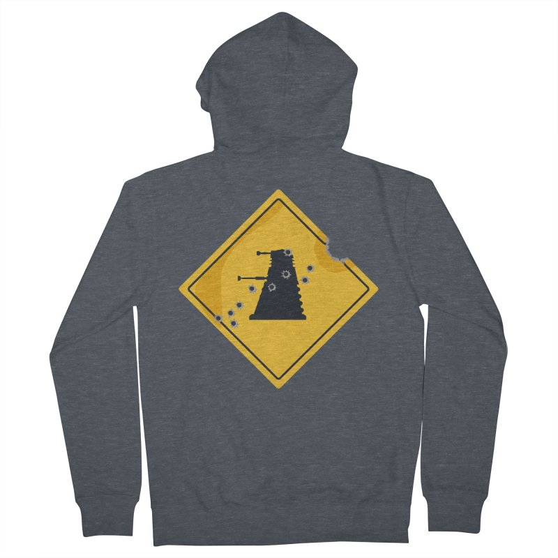 Dalek Crossing Women's Zip-Up Hoody by TCarver T-shirt Designs