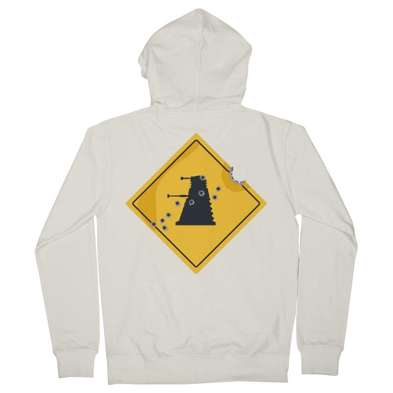 Dalek Crossing Women's Zip-Up Hoody by TCarver T-shirt Designs