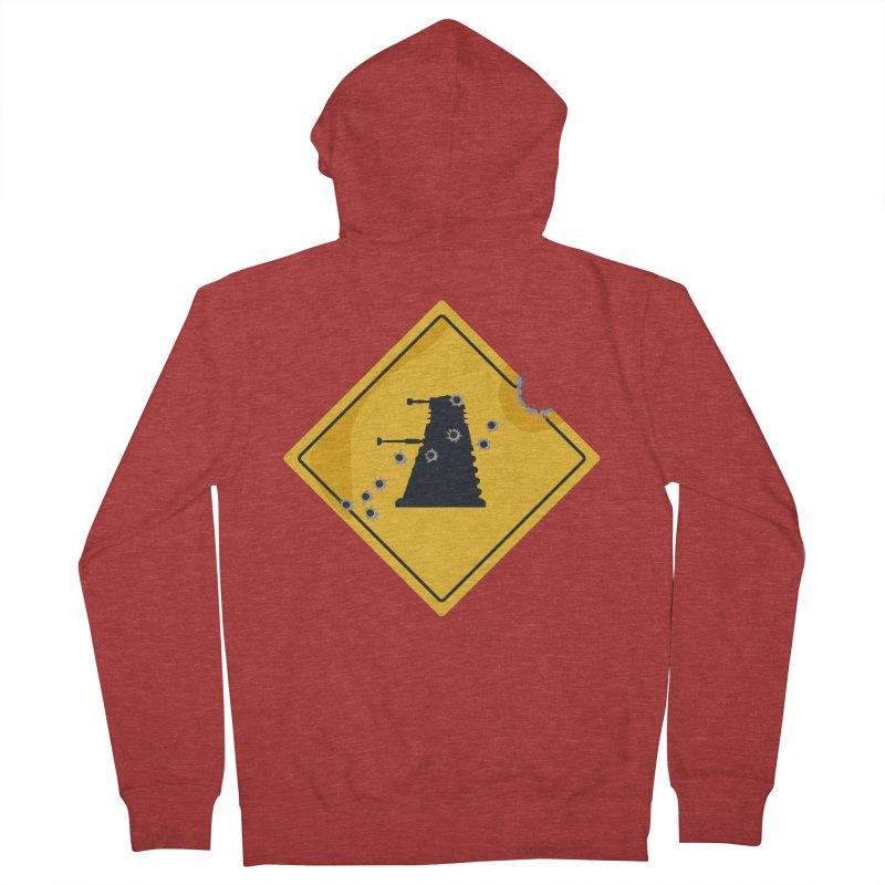 Dalek Crossing Men's Zip-Up Hoody by TCarver T-shirt Designs