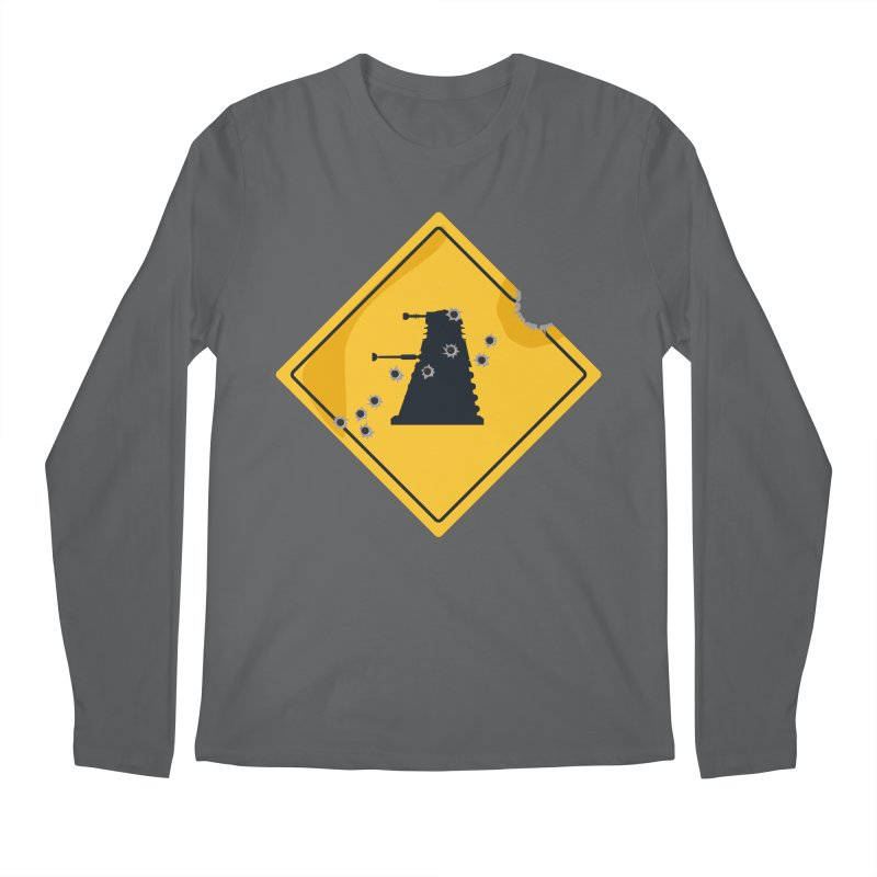 Dalek Crossing Men's Longsleeve T-Shirt by TCarver T-shirt Designs