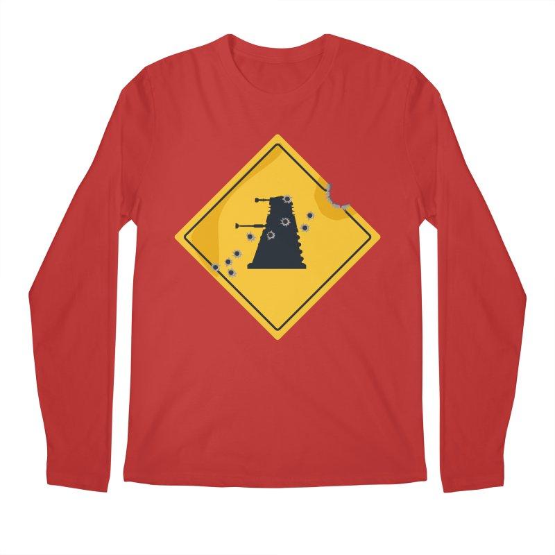 Dalek Crossing Men's Longsleeve T-Shirt by TCarver T-shirt Designs