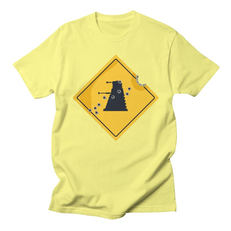 Dalek Crossing Men's T-Shirt by TCarver T-shirt Designs