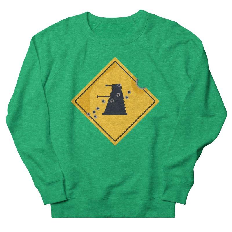 Dalek Crossing Women's Sweatshirt by TCarver T-shirt Designs