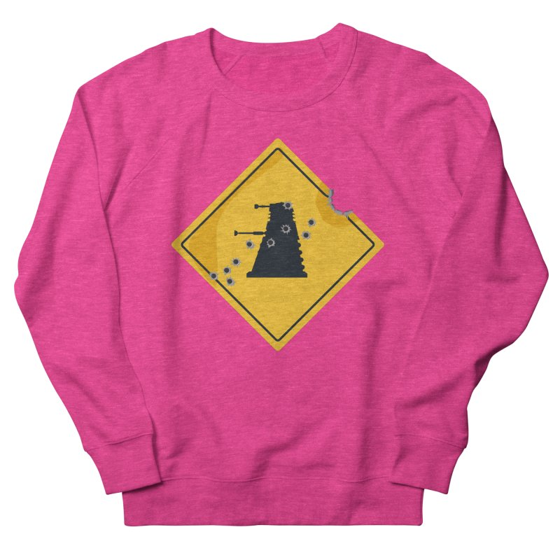 Dalek Crossing Women's Sweatshirt by TCarver T-shirt Designs