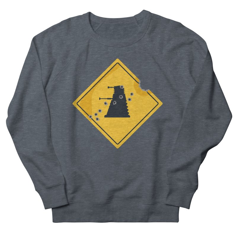 Dalek Crossing Men's Sweatshirt by TCarver T-shirt Designs