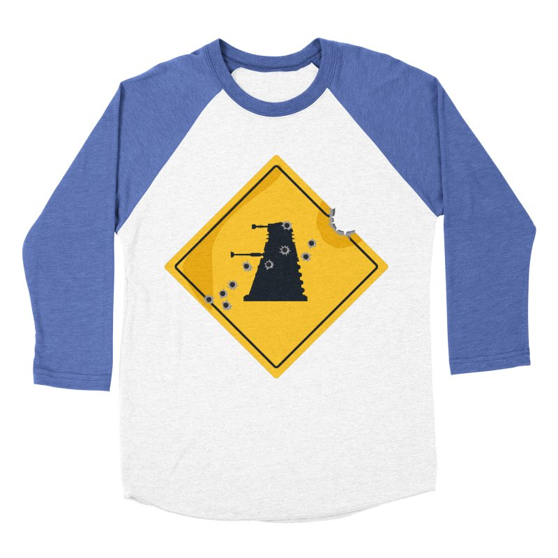 Dalek Crossing Women's Baseball Triblend T-Shirt by TCarver T-shirt Designs