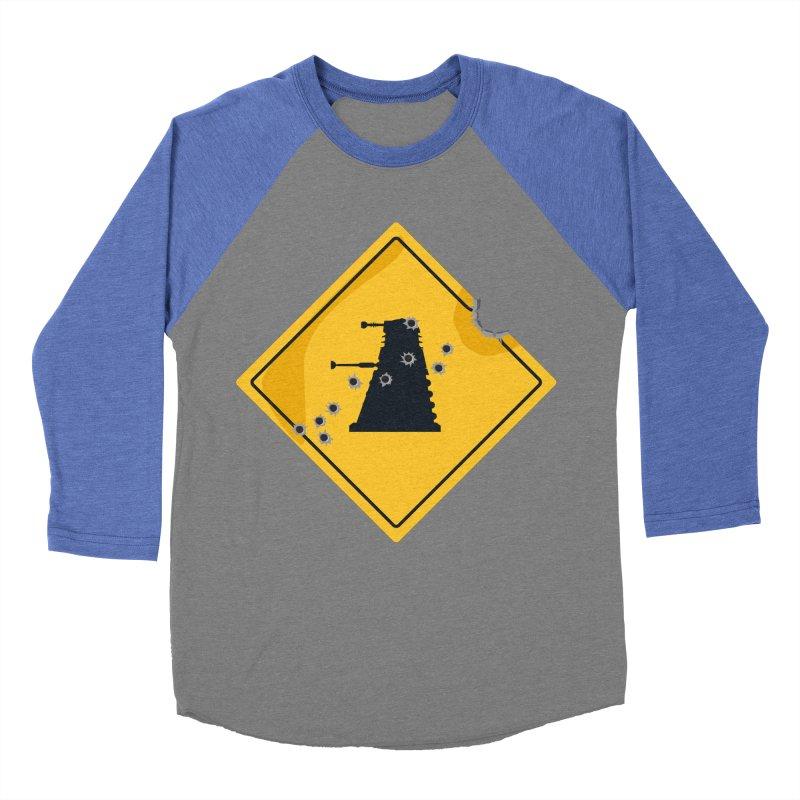 Dalek Crossing Women's Baseball Triblend T-Shirt by TCarver T-shirt Designs