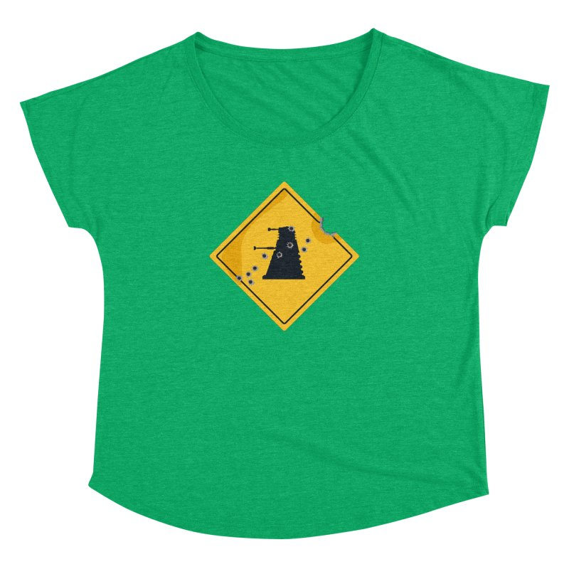 Dalek Crossing Women's Dolman by TCarver T-shirt Designs