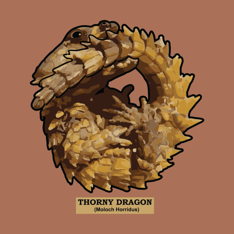 Thorny Dragon None  by TCarver T-shirt Designs