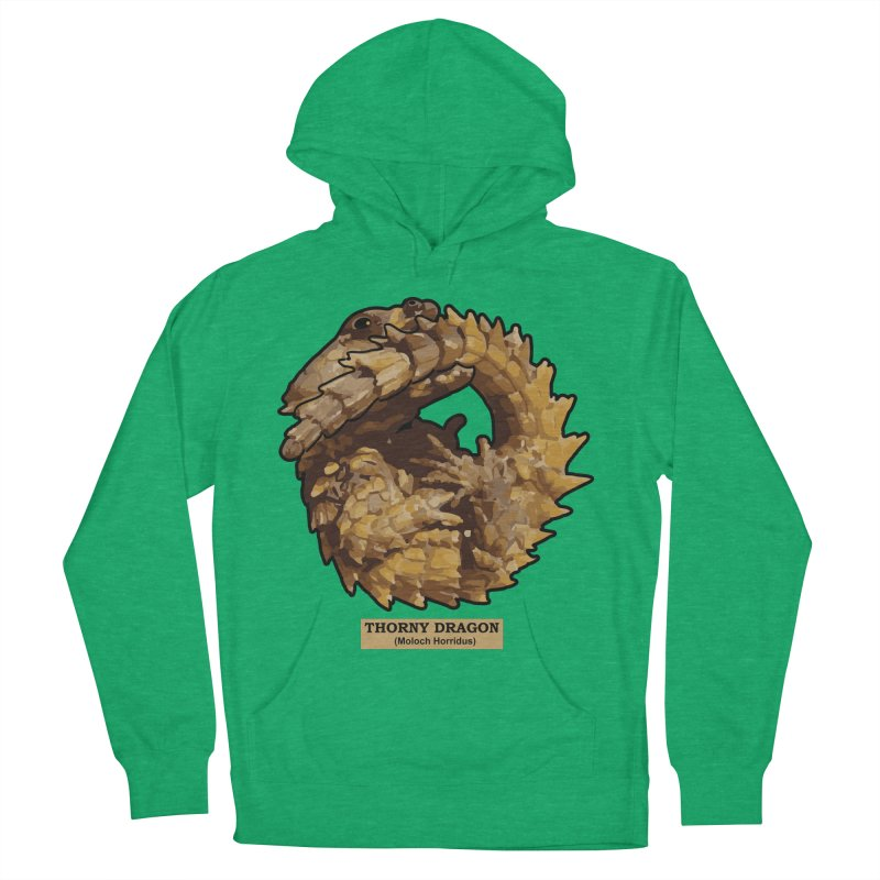 Thorny Dragon Men's Pullover Hoody by TCarver T-shirt Designs