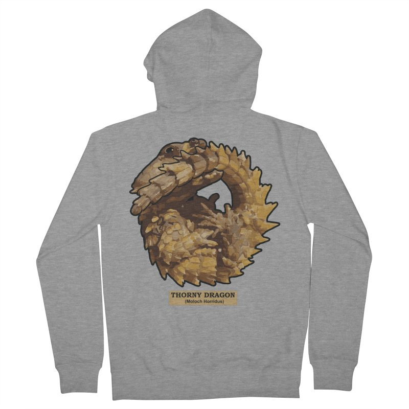 Thorny Dragon Women's Zip-Up Hoody by TCarver T-shirt Designs