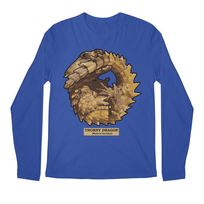 Thorny Dragon Men's Longsleeve T-Shirt by TCarver T-shirt Designs
