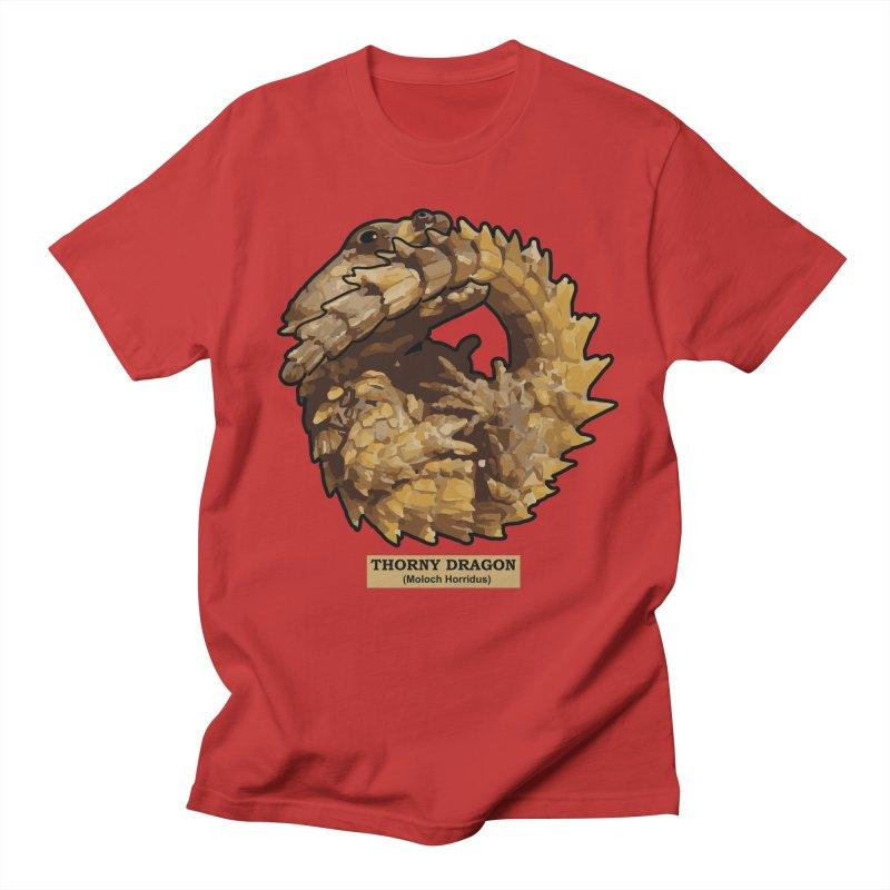 Thorny Dragon Men's T-Shirt by TCarver T-shirt Designs