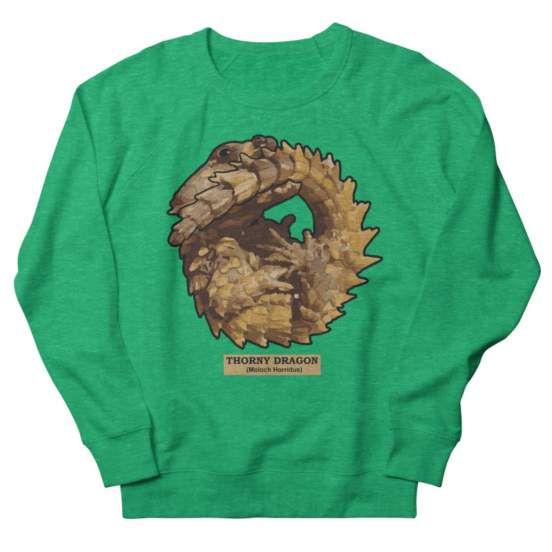 Thorny Dragon Men's Sweatshirt by TCarver T-shirt Designs