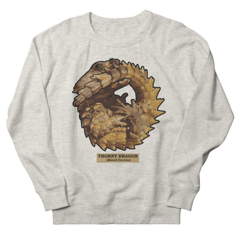 Thorny Dragon Men's Sweatshirt by TCarver T-shirt Designs