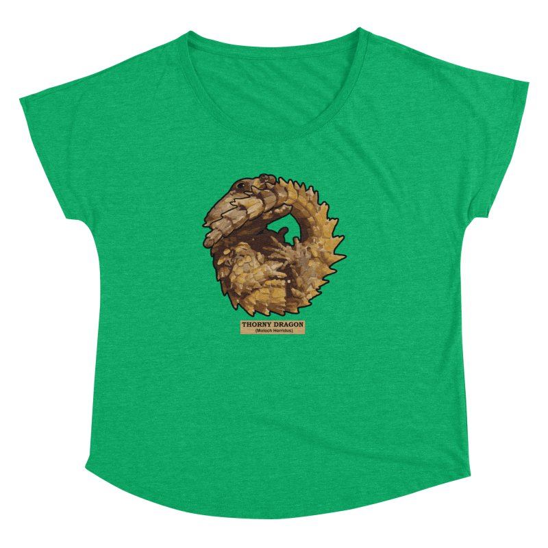 Thorny Dragon Women's Dolman by TCarver T-shirt Designs
