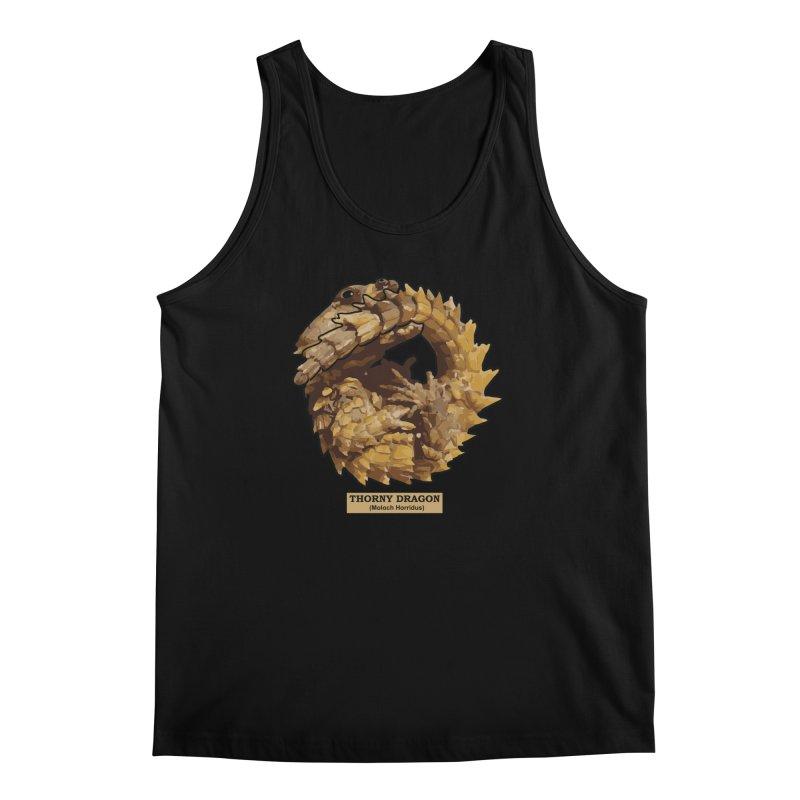 Thorny Dragon Men's Tank by TCarver T-shirt Designs