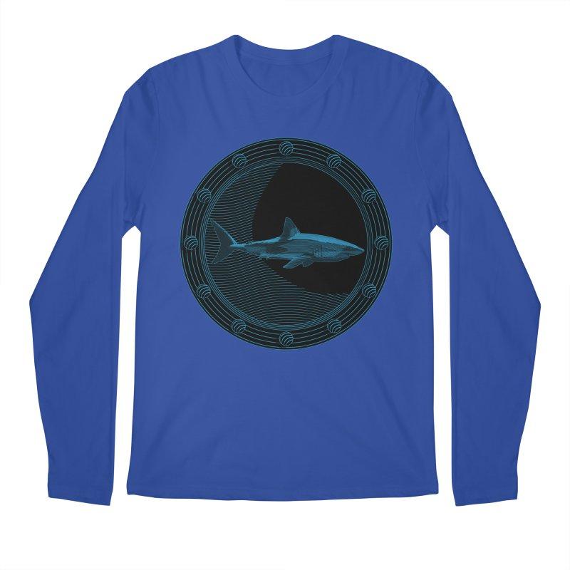 Portal Shark Men's Longsleeve T-Shirt by TCarver T-shirt Designs