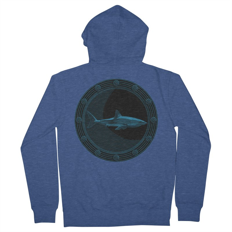 Portal Shark Women's Zip-Up Hoody by TCarver T-shirt Designs