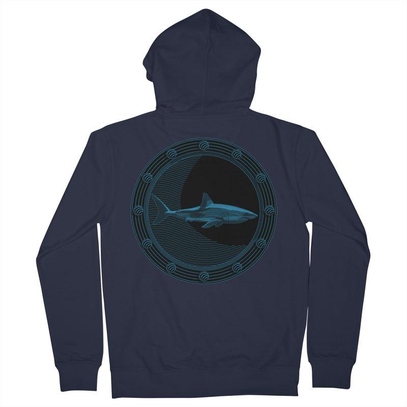 Portal Shark Women's Zip-Up Hoody by TCarver T-shirt Designs