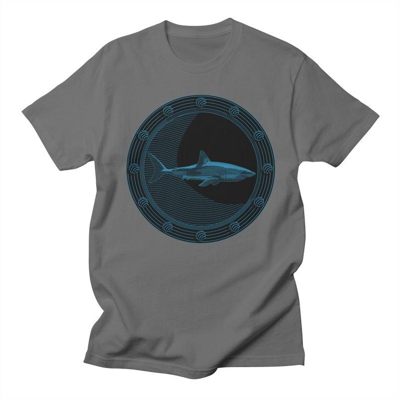 Portal Shark Men's T-Shirt by TCarver T-shirt Designs