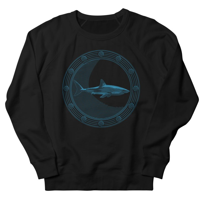 Portal Shark Women's Sweatshirt by TCarver T-shirt Designs