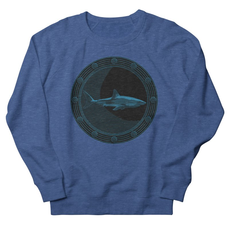 Portal Shark Men's Sweatshirt by TCarver T-shirt Designs