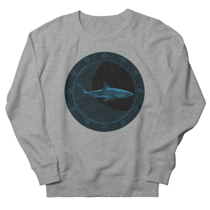 Portal Shark Men's Sweatshirt by TCarver T-shirt Designs