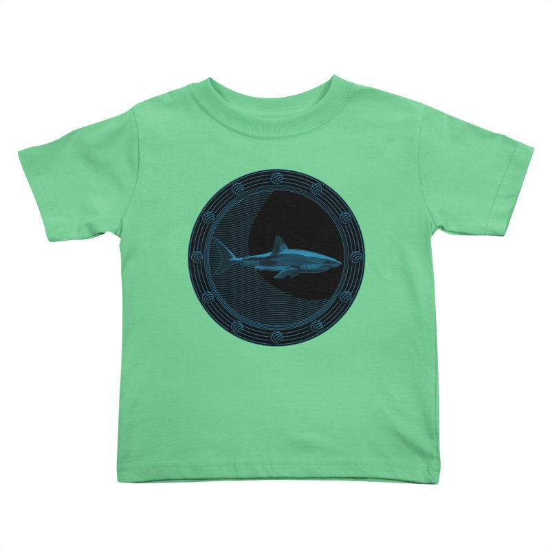 Portal Shark Kids Toddler T-Shirt by TCarver T-shirt Designs