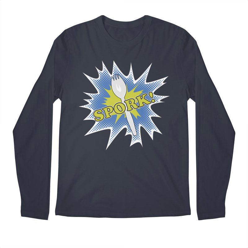 Spork! Men's Longsleeve T-Shirt by TCarver T-shirt Designs