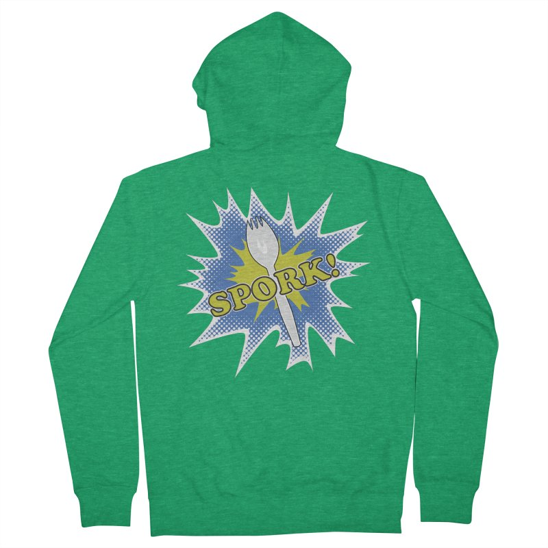 Spork! Women's Zip-Up Hoody by TCarver T-shirt Designs
