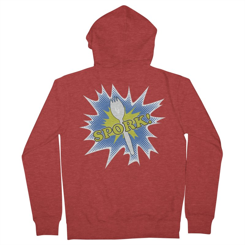 Spork! Men's Zip-Up Hoody by TCarver T-shirt Designs