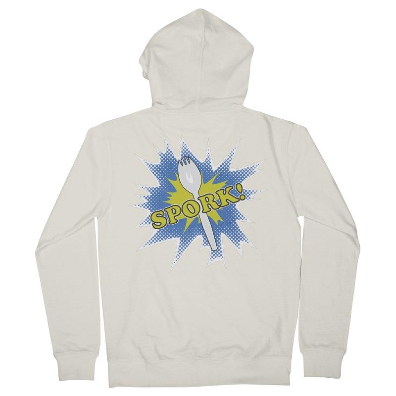 Spork! Men's Zip-Up Hoody by TCarver T-shirt Designs